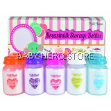 Milk Planet - Breast Milk Storage Bottle 5oz Mom's Love Edition (10 Bottles)