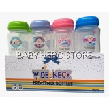 Milk Planet - Wide Neck Breast Milk Storage Bottle 5oz (8 Bottles)