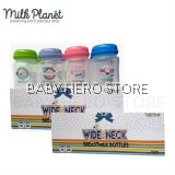 Milk Planet - Wide Neck Breast Milk Storage Bottle 5oz (8 Bottles) - 2 Packs