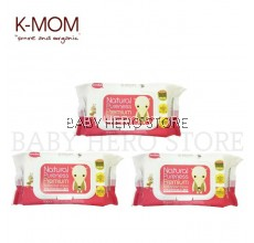 K-Mom - Organic Premium Wet Wipes (80pcs) - 3 Packs