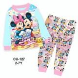 Cuddle Me Baby Pyjamas - Mickey and Minnie L1 (2-7Y)