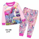 Cuddle Me Baby Pyjamas - Unicorn Adventures L1 (2-7Y)