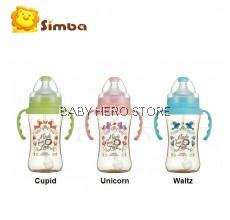 Simba Dorothy Wonderland PPSU Feeding Bottle with handle (270ml)