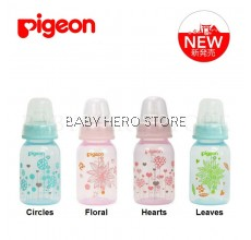 Pigeon - Flexible Clear PP Slim Neck Nursing Bottle (4oz/120ml)