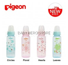 Pigeon - Flexible Clear PP Slim Neck Nursing Bottle (8oz/240ml)