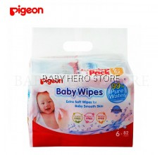 Pigeon - Baby Wipes 99% Pure Water 6 In 1 (82s)