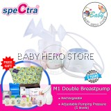 Spectra M1 Portable Double Electric Breast Pump Package C