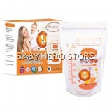 Autumnz - Double ZipLock Breastmilk Storage Bag (28 bags) - 10oz