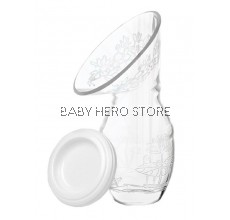 Autumnz-Silicone Manual Breastmilk Collector (FOC Hygiene Cover)